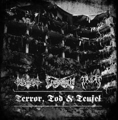 Feuernacht / Blutkult / Blutaar - Terror, Tod und Teufel (CD)