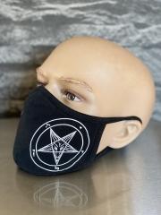 Facemask Goat/Pentagram